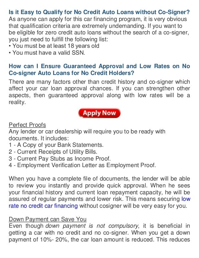 Does Having A Cosigner Help Get A Car Loan