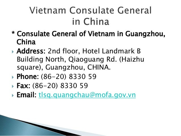 how to get vietnam visa canada