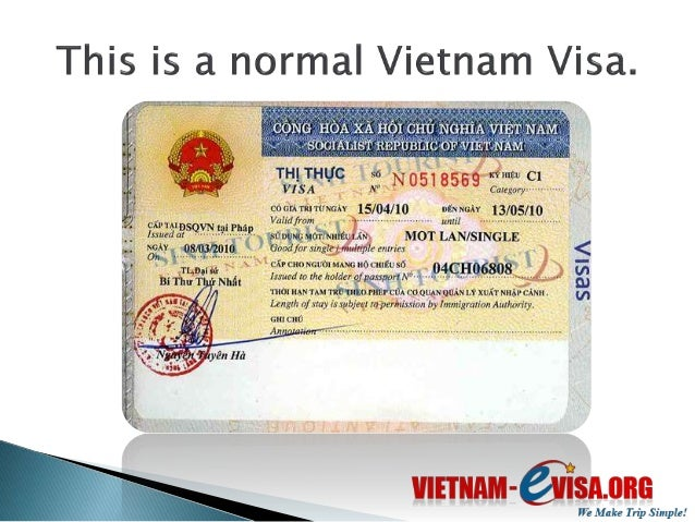 How To Get A Vietnam Visa In Hong Kong Vietnam Evisa