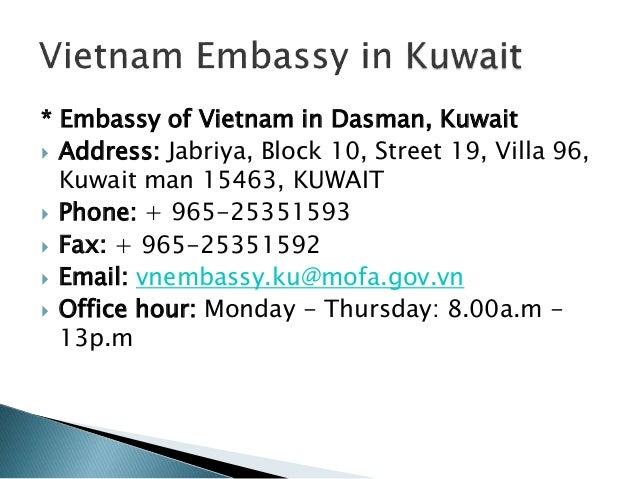 How to get a Vietnam visa in KUWAIT   Vietnam-Evisa Org - Discount 20…