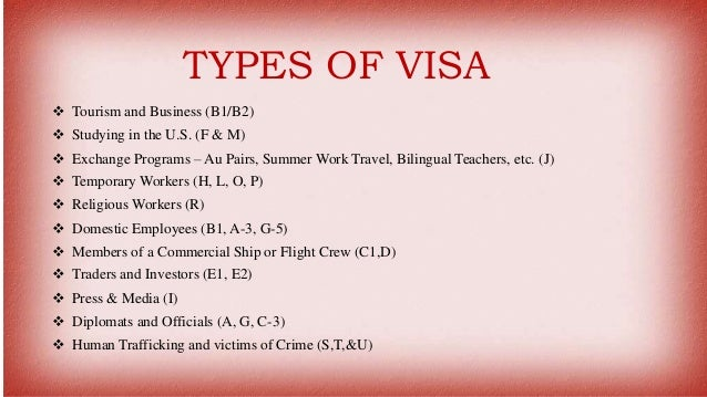 How To Get A Visa For USA
