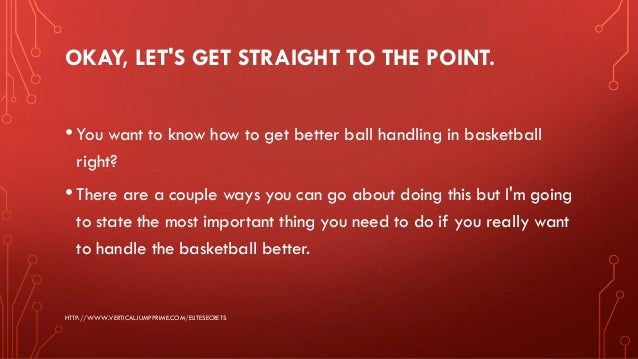 How To: Improve Your Ball Handling - Daily 5 ... - YouTube