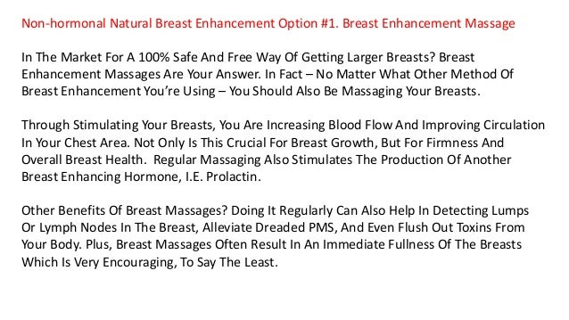 Ways to enhance your breast