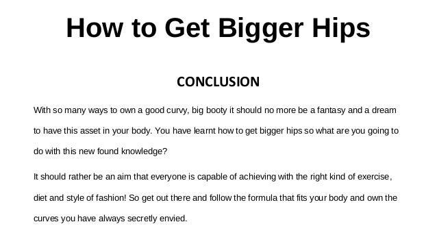 How Do I Get A Bigger Bum Naturally
