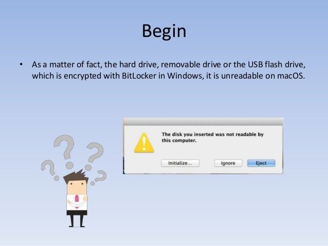 How to Get BitLocker Drive Readable on macOS