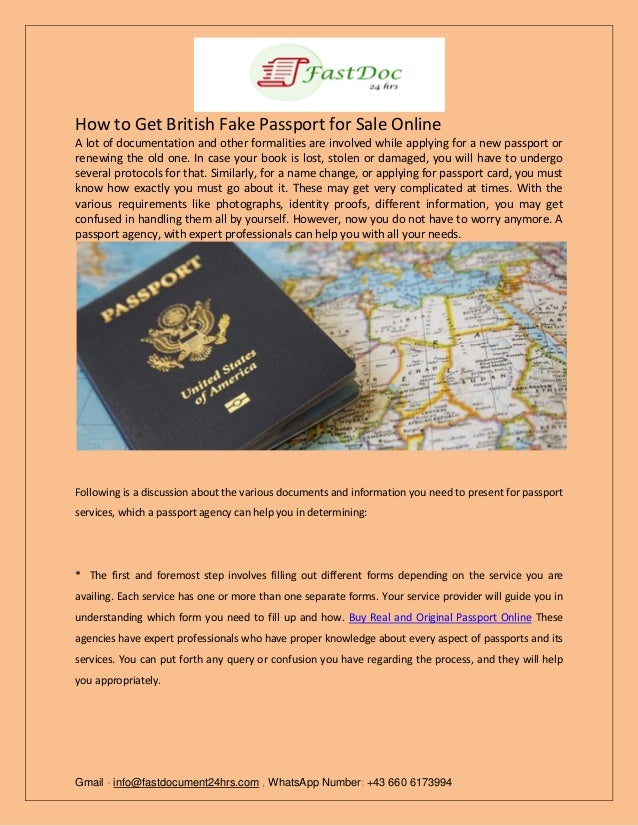 How to get british fake passport for sale online  pdf