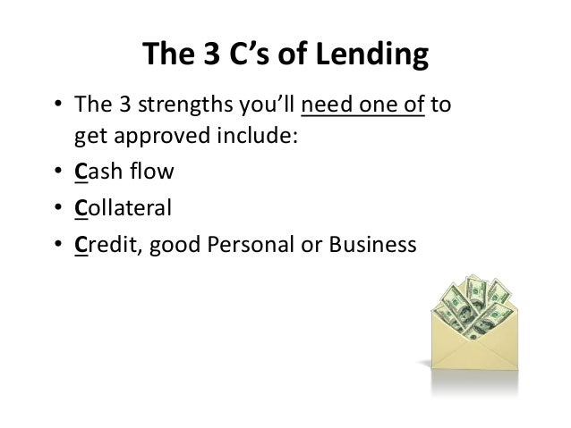 how to get small business loan with no credit