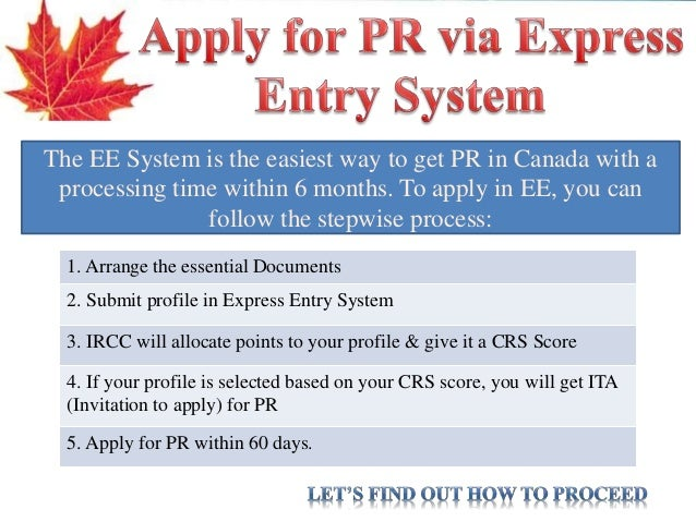 how to become a pr in canada