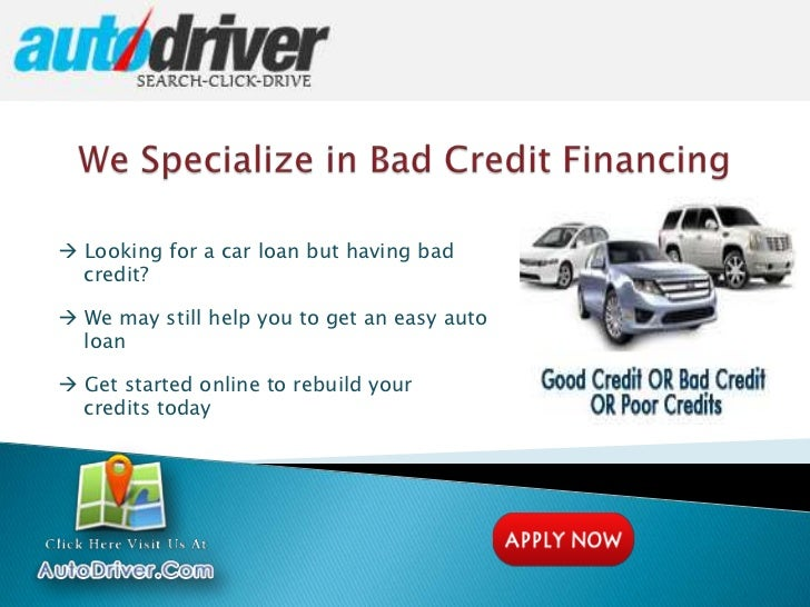 How To Get Car Loans With Bad Credit Make Auto Loan Financing Easy