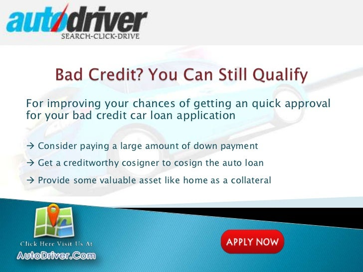 Current Car Loan Rates For Poor Credit