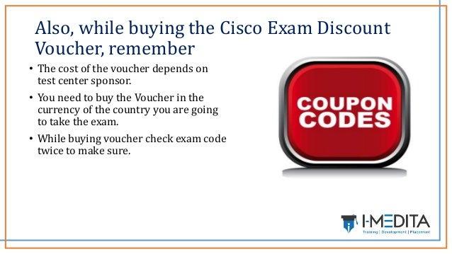 How to get Cisco Exam Discount Voucher