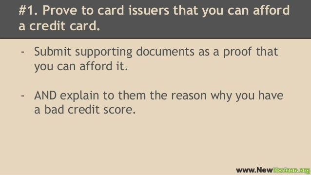 How to Get Credit Cards for Bad Credit With High Credit Limit