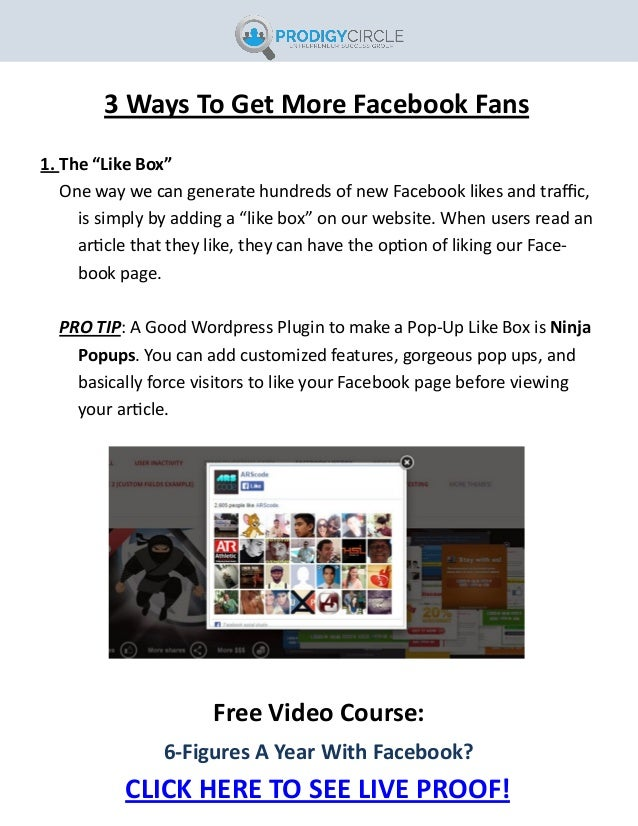 free facebook likes fast and easy
