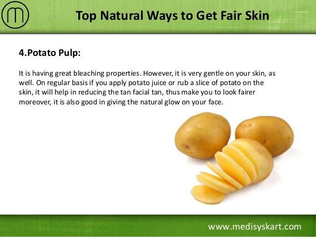 Natural Ways To Get Fair Skin