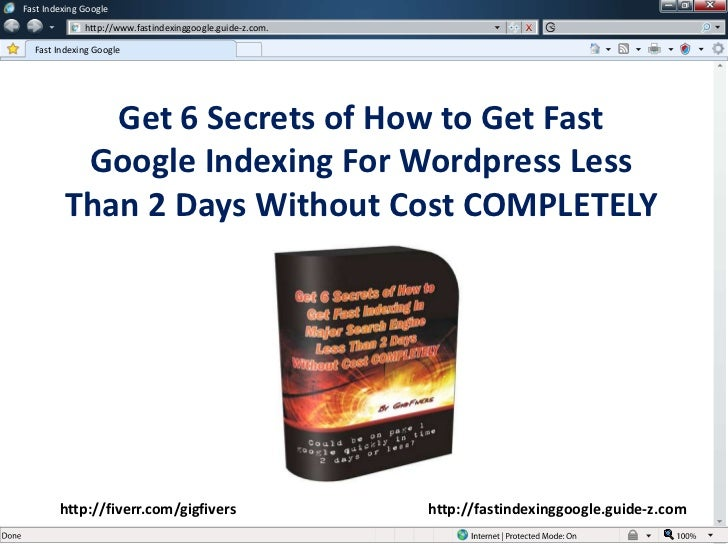 Fast Indexing Google              http://www.fastindexinggoogle.guide-z.com.  Fast Indexing Google            Get 6 Secret...