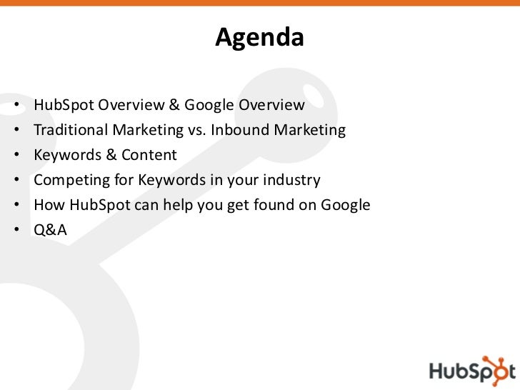 How to Get Found On Google Using The HubSpot Software Slide 2