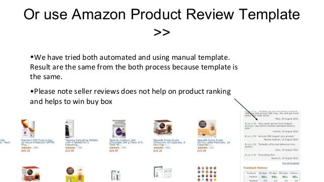How To Get More Amazon Product Reviews
