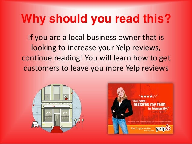 Image result for Get more reviews on yelp