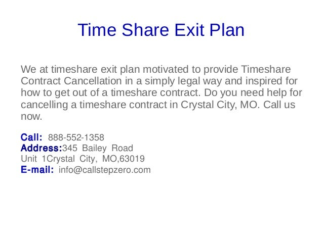 The Facts About Timeshare Cancellations Legally Revealed