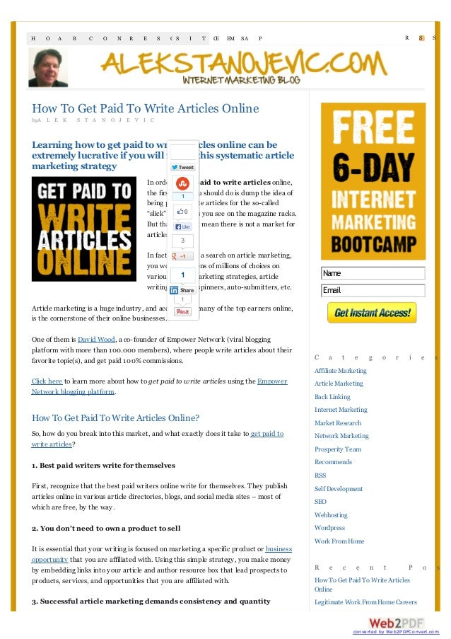 how to get paid to write articles online jpg cb  how to get paid to write articles onlinebya l e k s t a n o j e v i clearning how to get paid to write