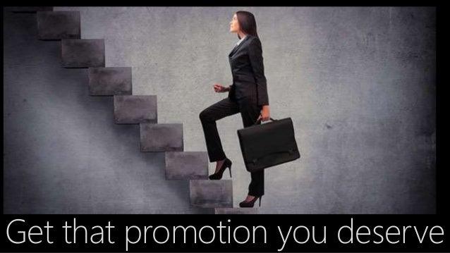 get a promotion