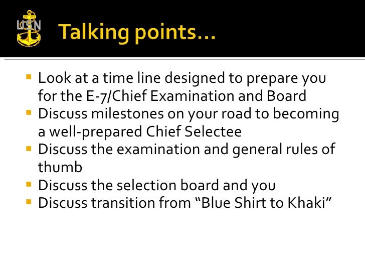 How to get ready for chief Slide 3