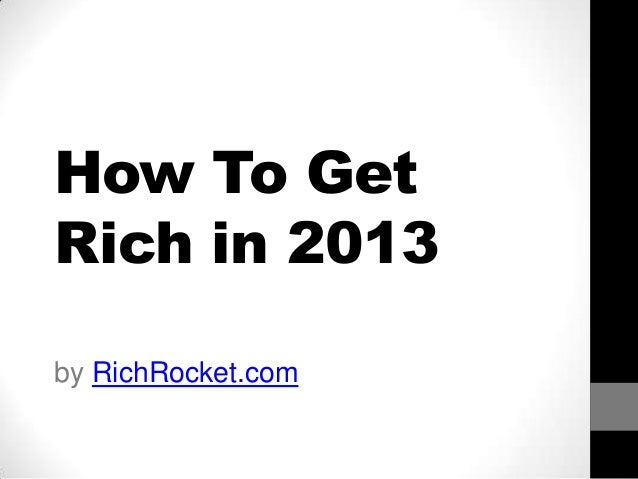 how to think rich and become rich