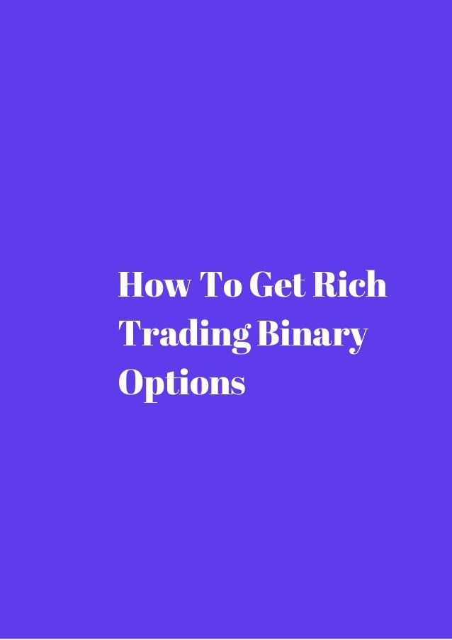Got rich trading options