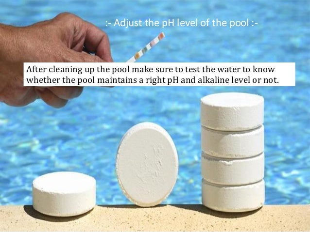 how to use algaecide in swimming pools