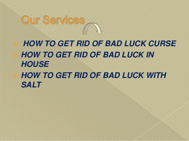 How To Get Rid Of Bad Luck Hindu 91 8146893323