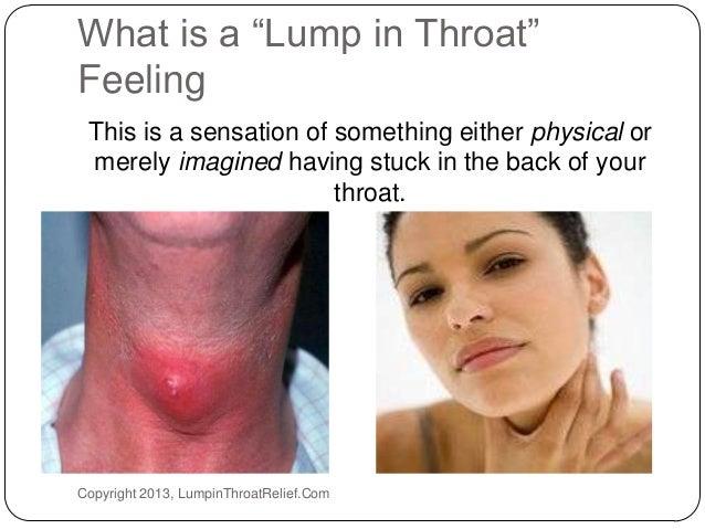 A Lump In Throat 7