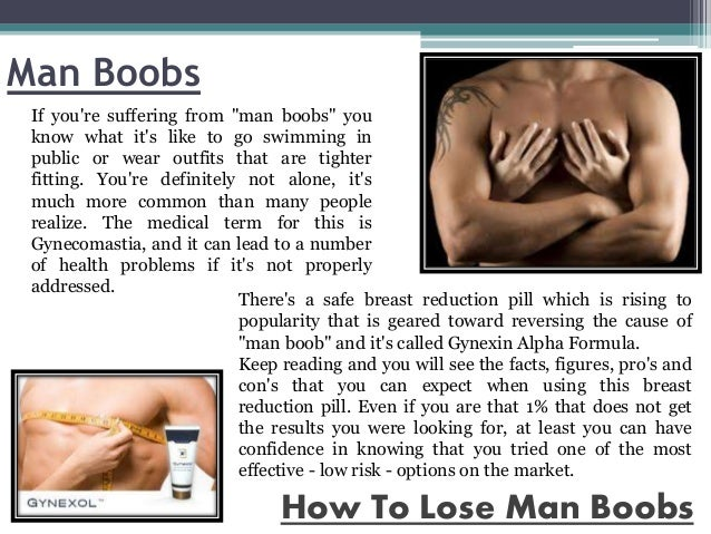 How To Get Rid Of Man Boobs
