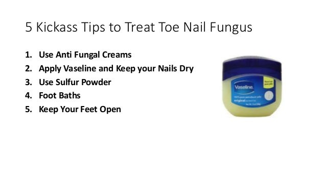 How To Get Rid of Toe Nail Fungus Naturally