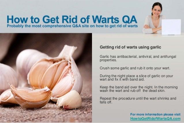 Get Rid Of Warts Naturally