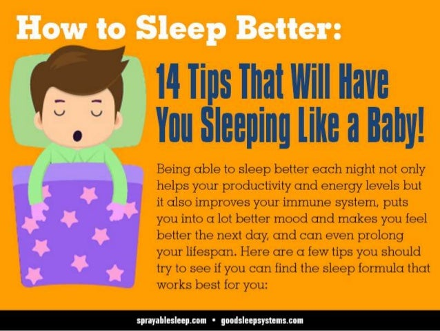 14 Tips For Baby Sleep