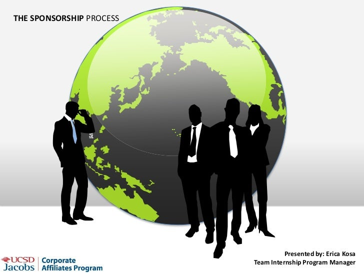 THE SPONSORSHIP PROCESS                                    Presented by: Erica Kosa                          Team Internsh...