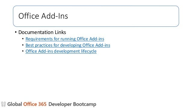 How to get started with office 365 development
