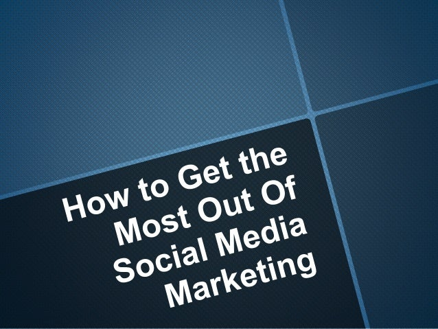 Social media marketing is absolutely a must if you're looking to market any modern business. Even if you're running a rest...