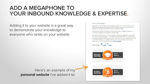 Adding it to your website is a great way to demonstrate your knowledge to everyone who lands on your website. Here's an ex...