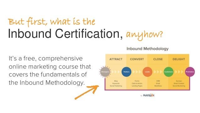 How to Get the Most Out of Your Inbound Certification