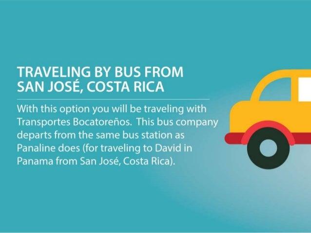 Panaline Bus San Jose To Panama City