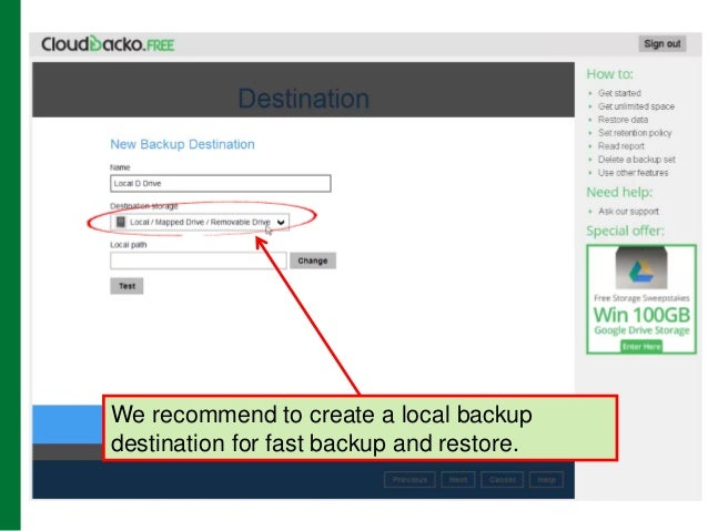 How to get unlimited free cloud backup space