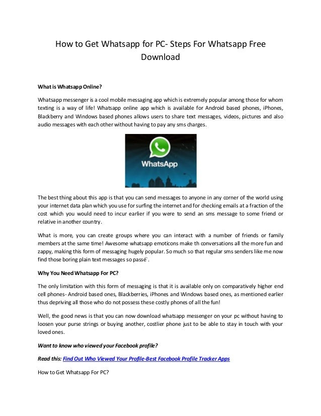 whatsapp messenger free download for android mobile