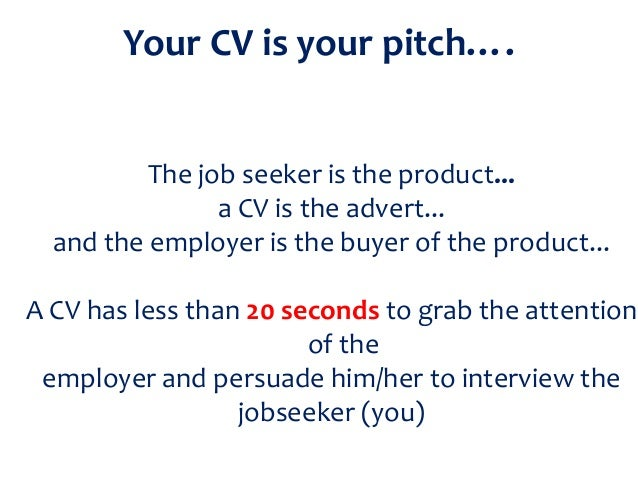 sample pitch for applying job