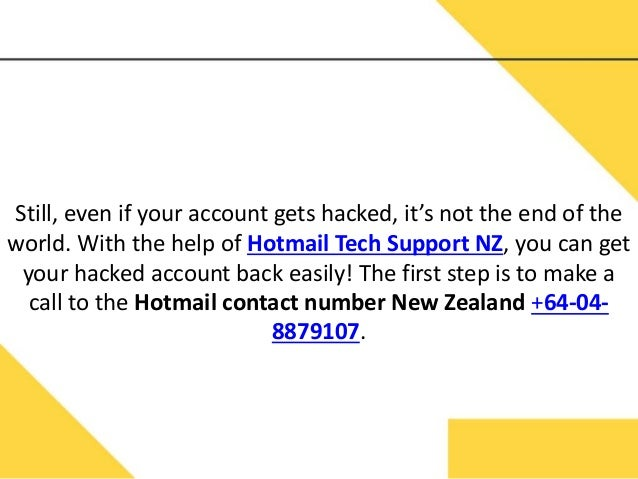 how to cancel hotmail account hacked