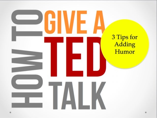 Humor is a great way to engage your audience in your speech.