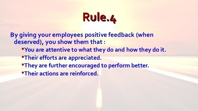 how to give negative feedback to employees
