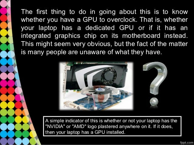 how to change your gpu laptop