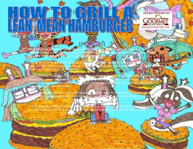www.gourmetrecipe.com When it comes to making a hamburger, just like meat farandoles but almost, there are several core st...