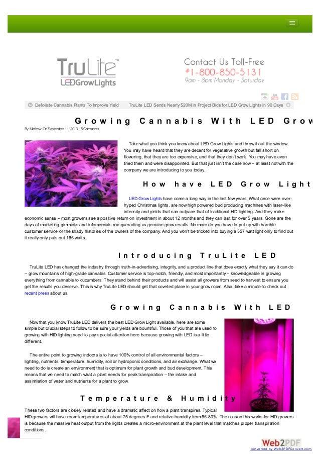 grow lights trulite led review g r o w i n g c a n n a b i s w i t h l e d g r o wg r o w i n g c a n n a b i s w i t h l e d g r o w